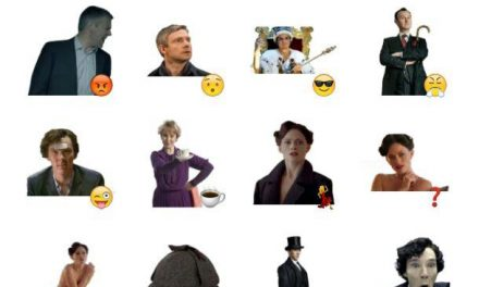 Sherlock Sticker Pack