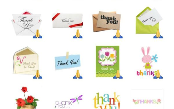 Thank Memo Sticker Pack
