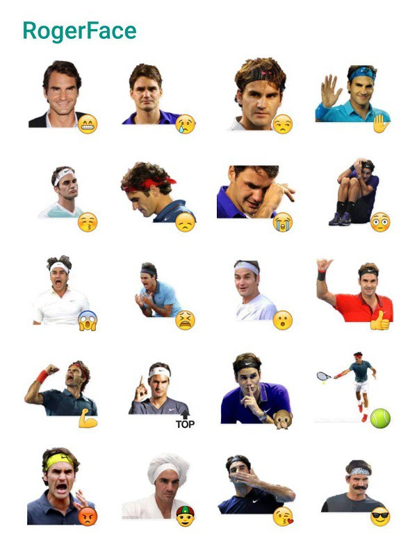 roger-federer-sticker-pack