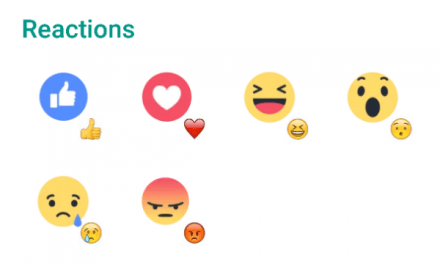 Facebook Reactions Sticker Pack