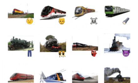 Trains Sticker Pack