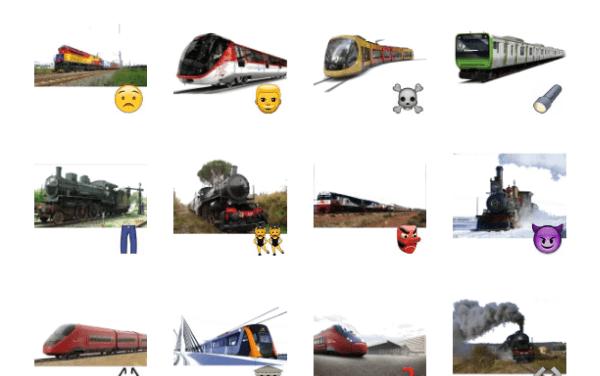 Trains Sticker Pack