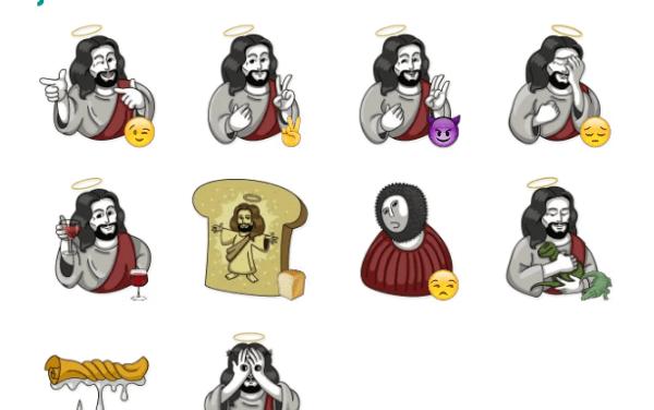 Jesus Sticker Pack