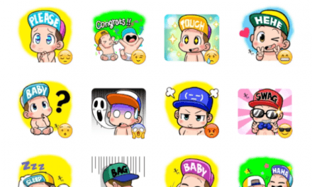 Cute Baby Sticker Pack