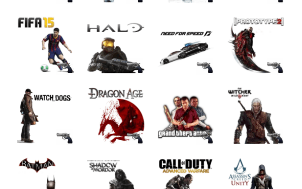 Games Sticker Pack
