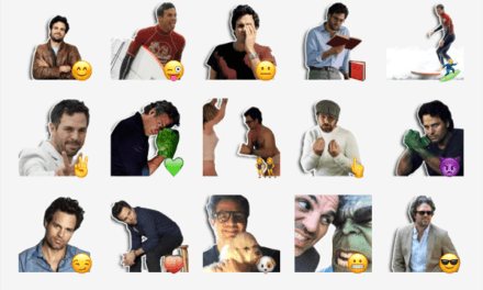 Mark Ruffalo Sticker Pack