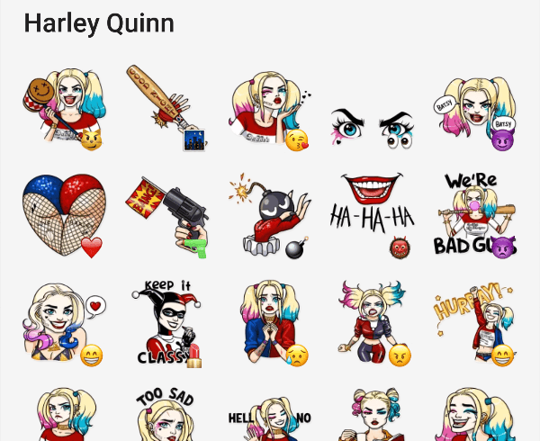 harley-quinn-telegram-sticker-pack