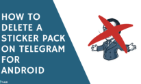 How to Delete a Sticker Pack on Telegram for Android