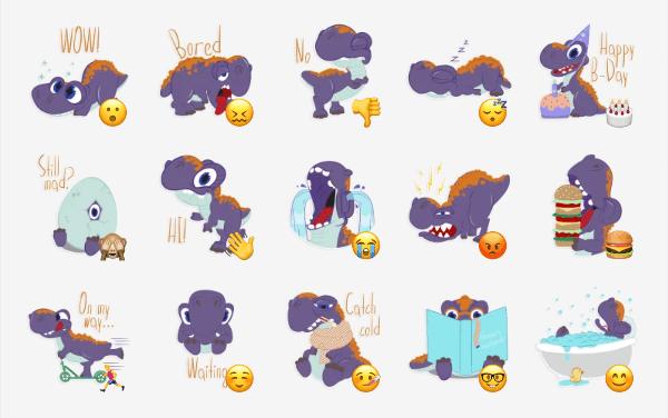 Dino Mess