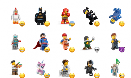 Lego minifigures sticker pack