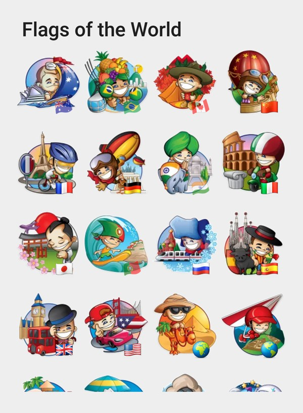 flags of the world stickers telegram stickers hub collection. Black Bedroom Furniture Sets. Home Design Ideas