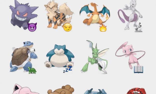 Pokemon Sticker Set for Telegram