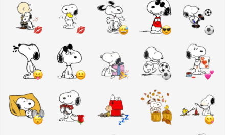 Snoopy sticker pack