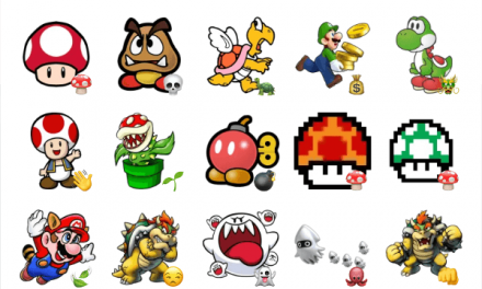 Super Mario Bros sticker pack