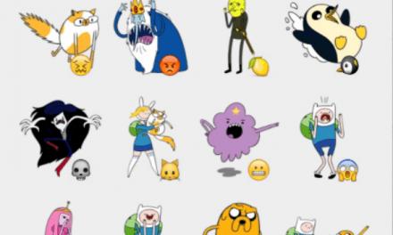 Adventure time sticker set