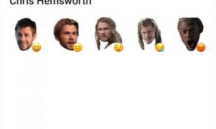 Chris Hemsworth sticker pack