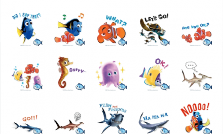 Finding Nemo sticker pack