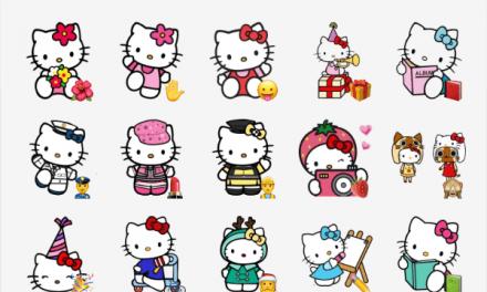Hello Kitty sticker pack
