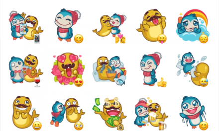 Lou and Theodore sticker pack