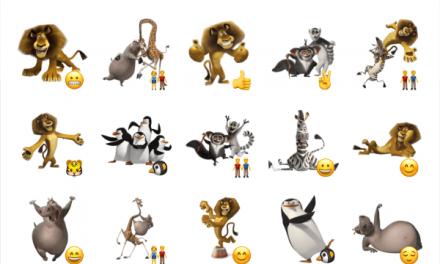 Madagascar sticker pack