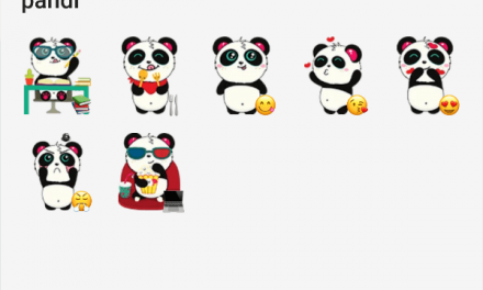 Pandi sticker pack