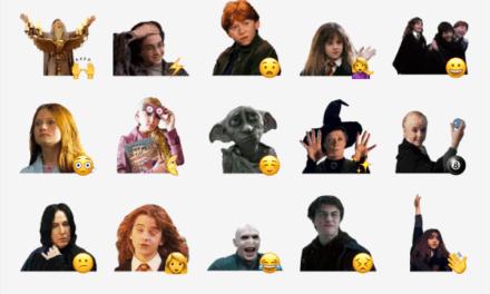 Harry Potter sticker packs