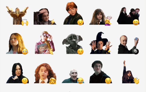 Harry Potter sticker packs