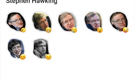 Stephen Hawking sticker pack