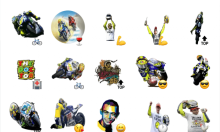 Valentino Rossi sticker pack