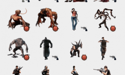 Resident Evil sticker pack