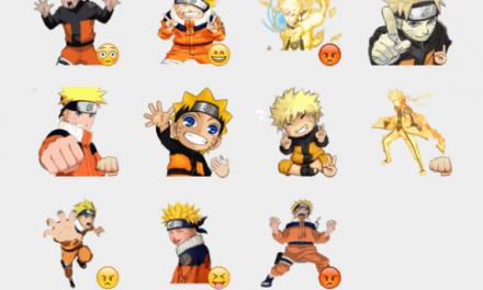 Naruto sticker packs
