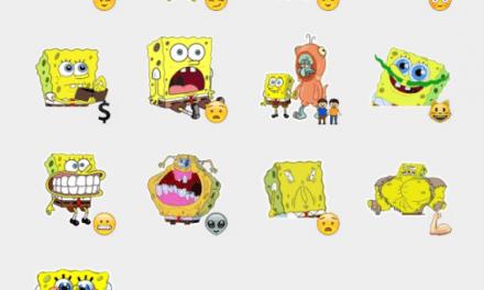 Spongebob meme sticker pack