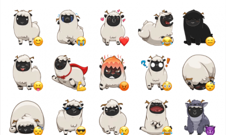 Baach the sheep sticker pack
