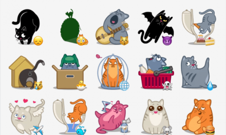 Catpower sticker pack