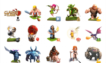 Clash of clans sticker pack