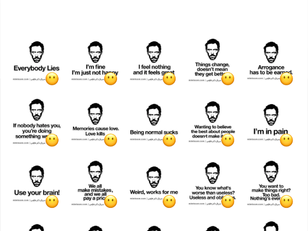 Dr House Sticker Pack Telegram Stickers Library