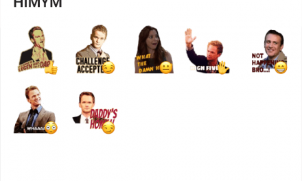 How i met your mother sticker pack