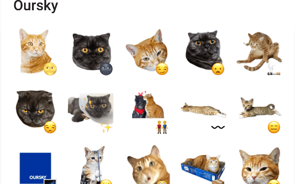 Cats sticker pack