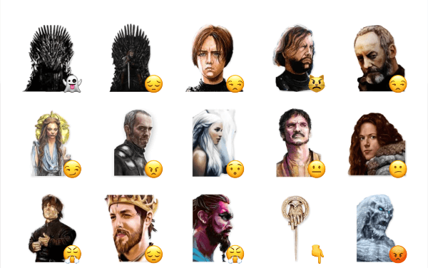 Game of thrones sticker pack 2
