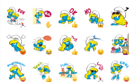 Smurfs sticker pack 2 [REMOVED]