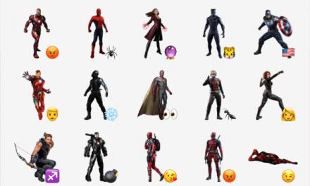 The Avengers sticker pack