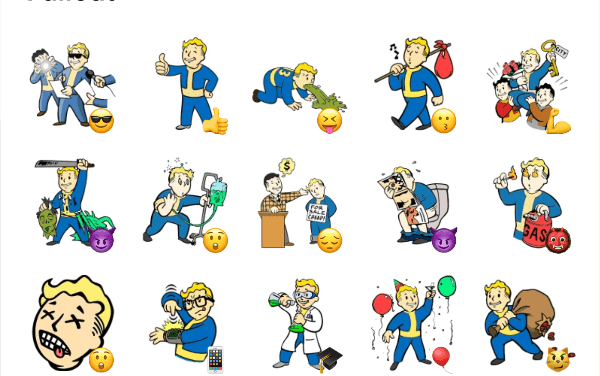 Fallout – Vault Boy sticker pack