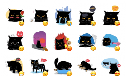 FatboyCat sticker pack