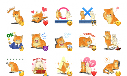 Michael Cat sticker pack