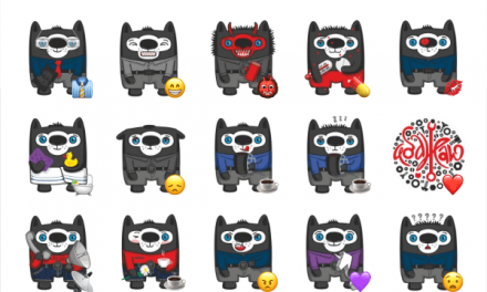 Vovkus The Wolf sticker pack
