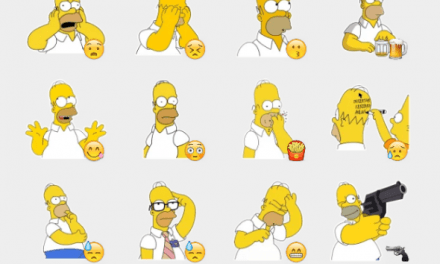 Homer Simpson sticker pack