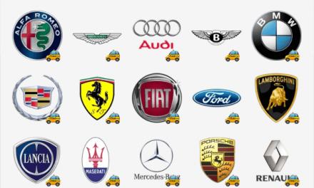 Car brand logo sticker pack