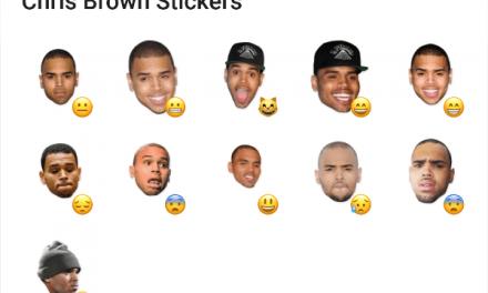 Chris Brown sticker pack