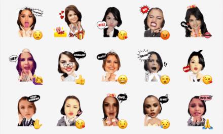 Selena Gómez sticker pack