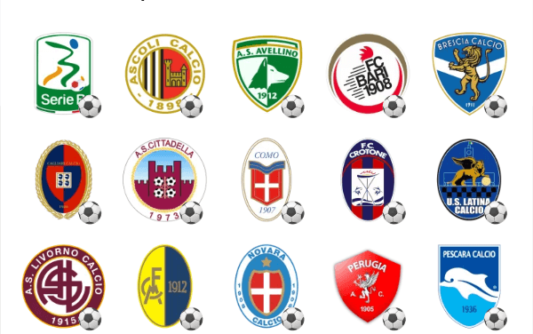 Italy serie B sticker pack